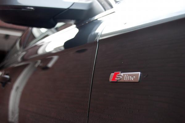 Chiel00 39 s garage audi a4 avant for Chrome line exterieur
