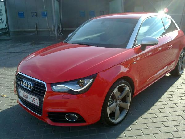 Red a1 39 s garage audi a1 s line for Garage audi a1